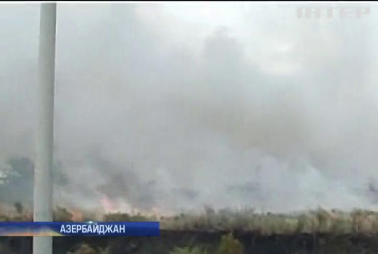 У Азербайджані через вибухи на складі загинули двоє людей