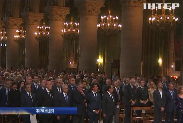 Президент Франції вшанував пам'ять убитого священика