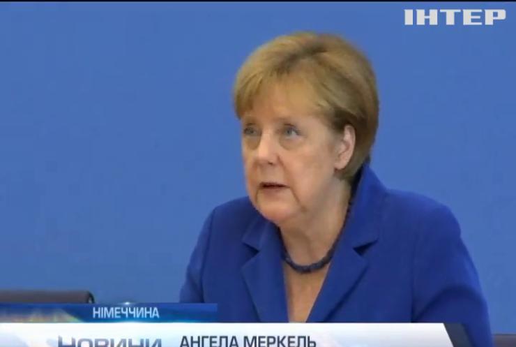 Меркель не змінить міграційну політику через теракти
