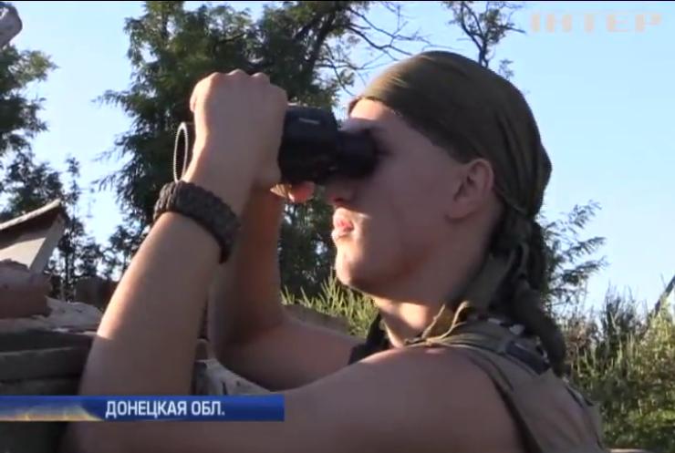 Под Мариуполем боевики отрабатывают на военных шквал артиллерии