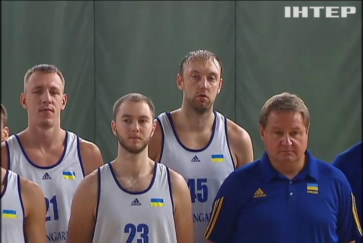 Збірна з баскетболу готується до матчу з болгарами