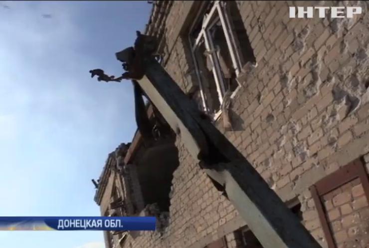 Под Авдеевкой боевики провоцируют военных на ответный огонь