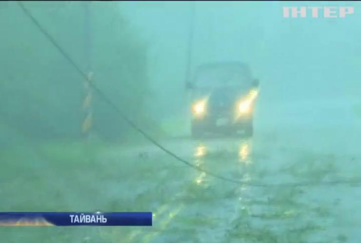 """Через тайфун """"Меранті"""" евакуювали 260 тис. тайванців"""