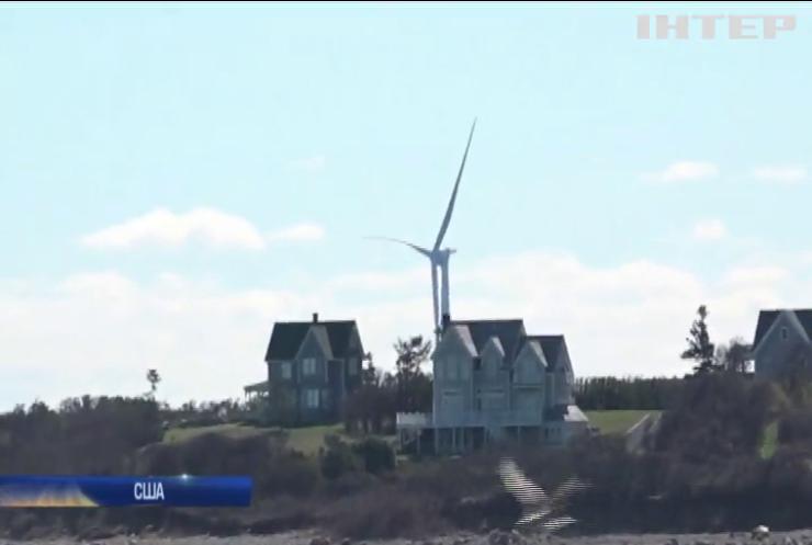 У США вітряна ферма забезпечує 5% населення електроенергією