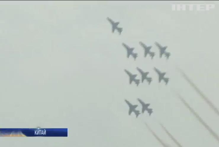 Китай представив новий бойовий літак J-20