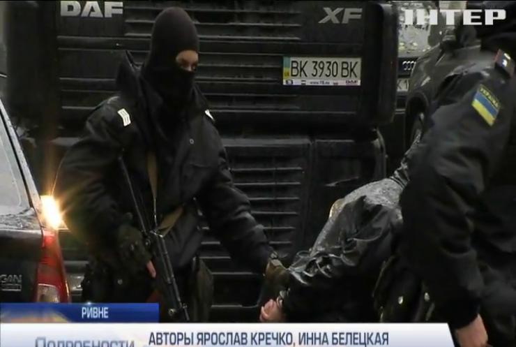 В Ривне полиция изъяла более десяти единиц оружия