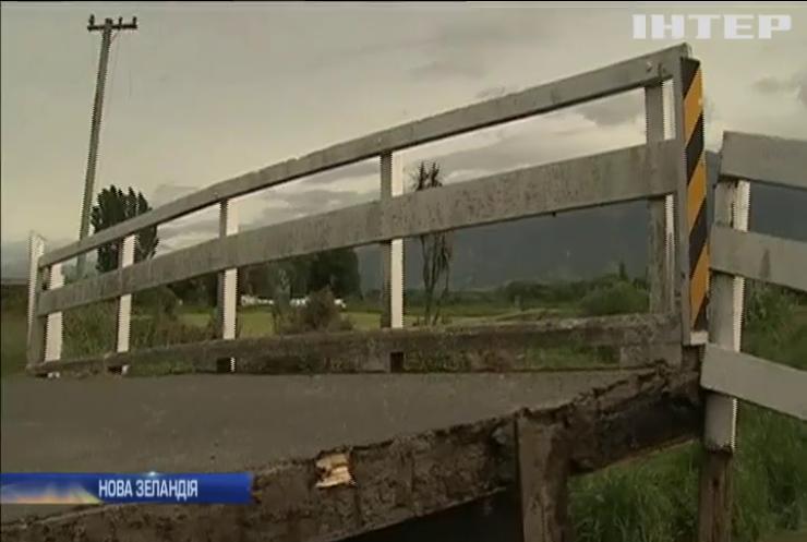 У Новій Зеландії проводять евакуацію після землетрусу