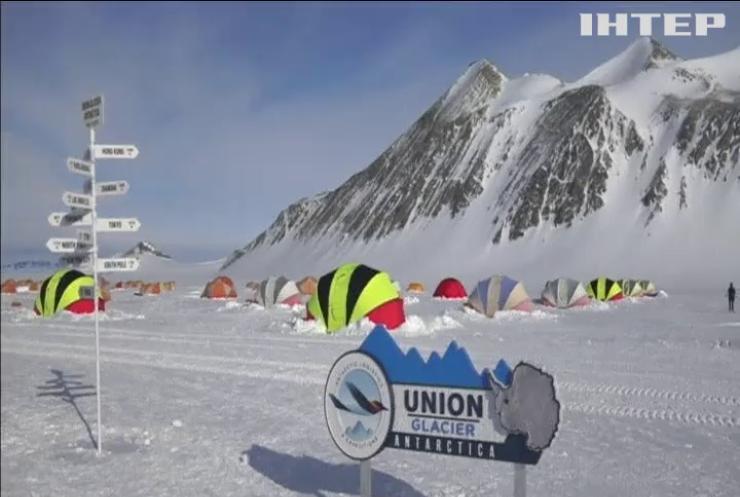 В антарктичному крижаному марафоні перемогла жінка з Польщі