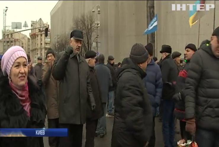 Ветераны МВД в Киеве требовали отставки Авакова