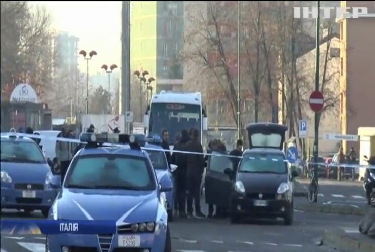 У Мілані поліція застрелила підозрюваного в тероризмі
