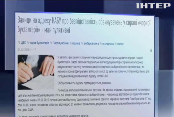 НАБУ предоставило новые доказательства обвинения главы Центризбиркома