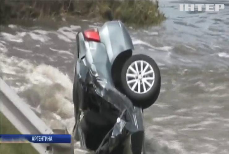 В Аргентині через повінь евакуювали 600 мешканців