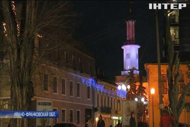 Города Прикарпатья могут остаться без уличного освещения