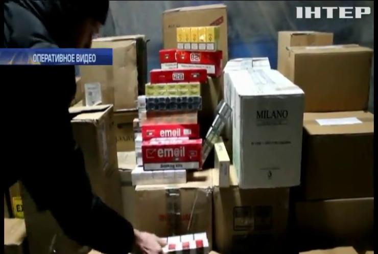 В Мелитополе изъяли 40 тыс. пачек контрабандных сигарет