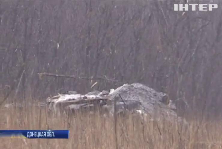 На Светлодарской дуге бойцы ВСУ захватили позиции боевиков
