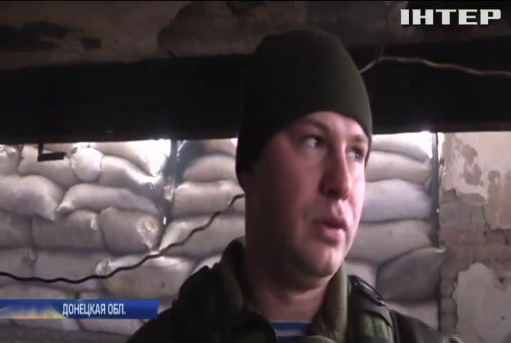 В Песках десантники зафиксировали артиллерию боевиков в аэропорту