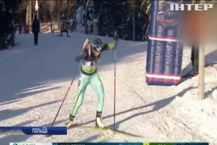 Українська біатлоністка Джима виграла золото у спринті