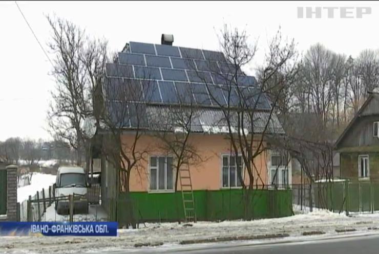 """Прикарпатці заробляють на """"зеленій"""" енергетиці"""