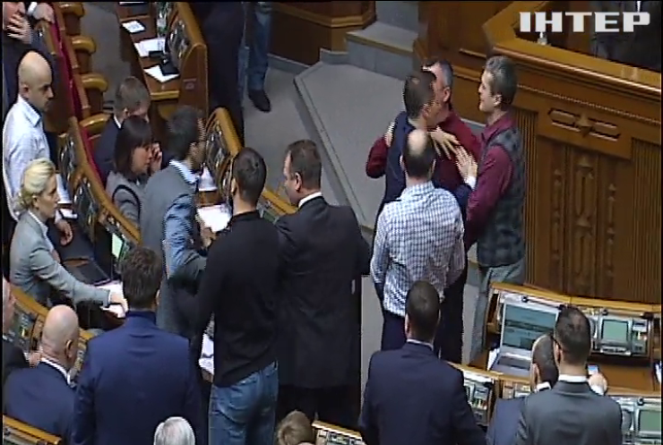 У Верховній Раді побилися депутати від БПП