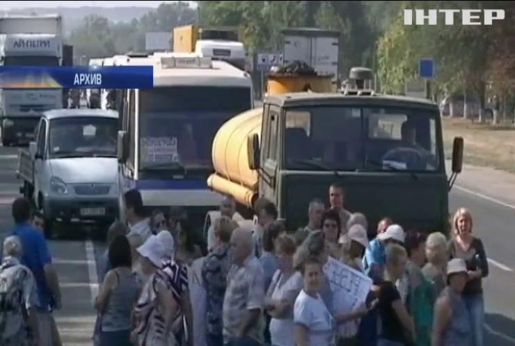 В Днепропетровской области задержали 11 грузовиков с львовским мусором