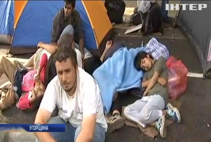 Угорщина створить табори для мігрантів