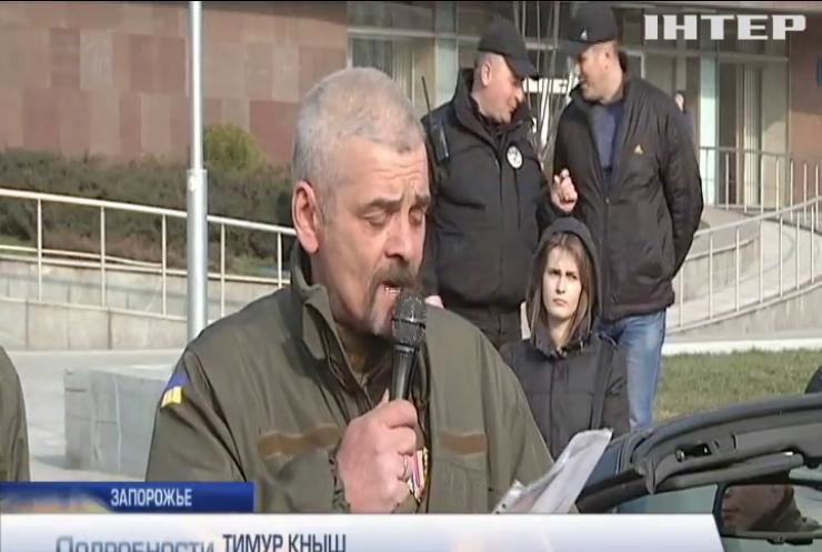 Сторонники блокады Донбасса требуют отставки главы МВД