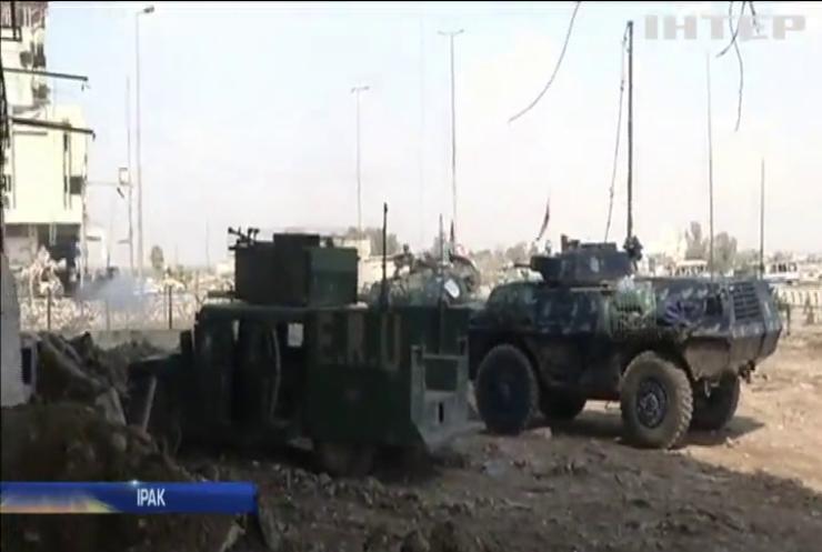 Армія Іраку повернула контроль над залізничним вокзалом в Мосулі