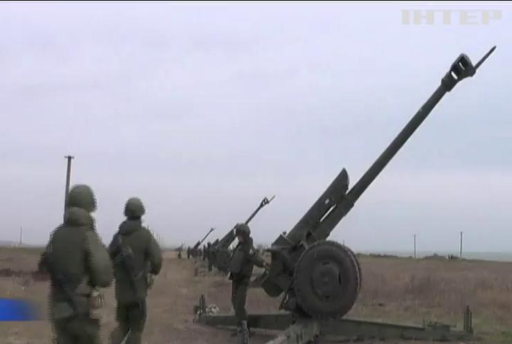 У Криму розпочались навчання військ Росії