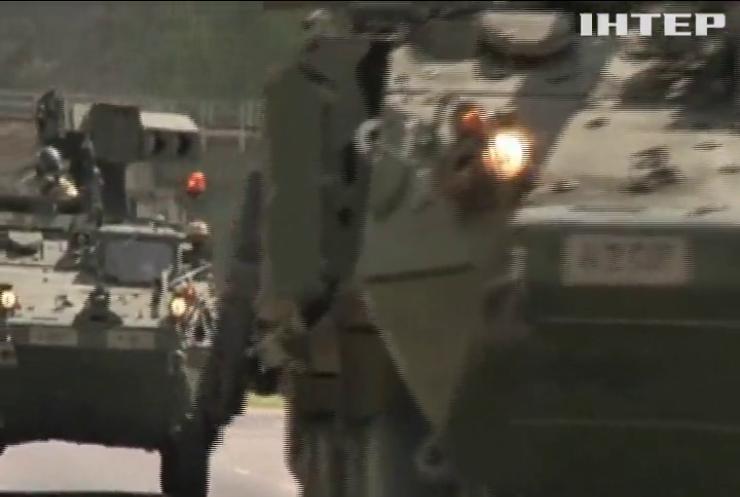 До Естонії прибули танки НАТО