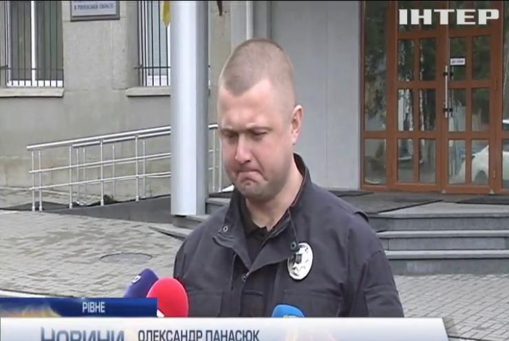 Відділок поліції у Рівному обстріляли з протитанкового гранатомета