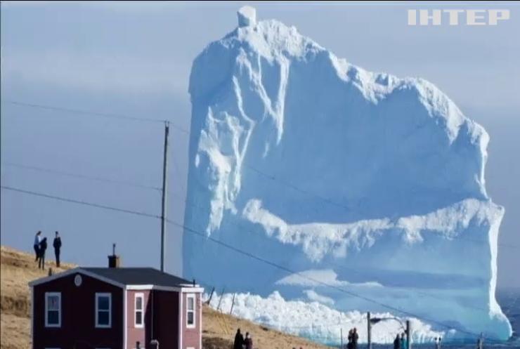 До узбережжя Канади приплив величезний айсберг