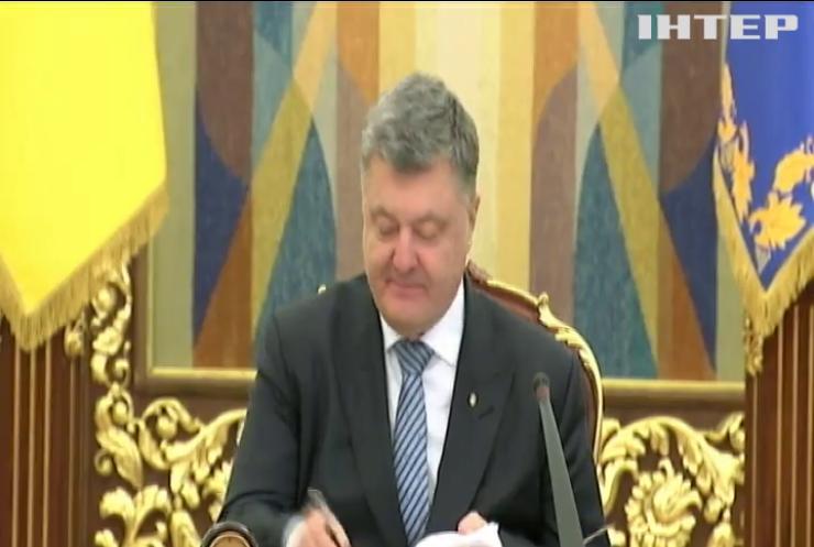 Порошенко подписал закон о поддержке украинского кино