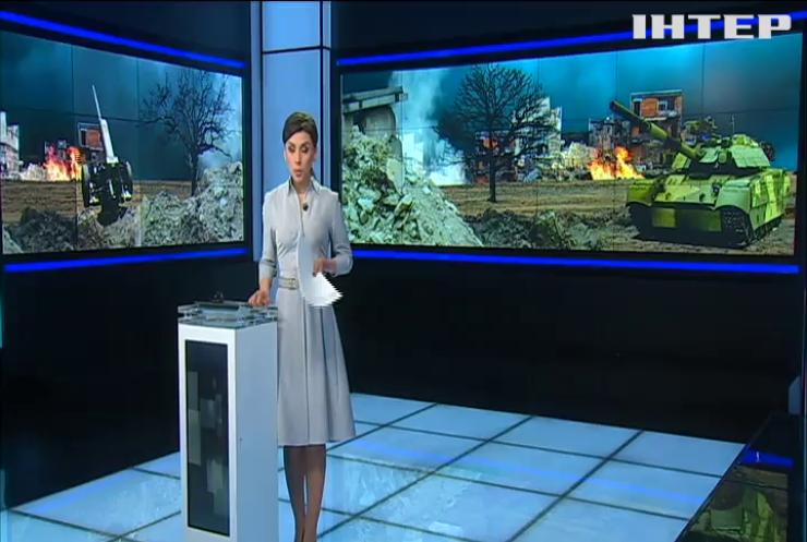 Обстрел Авдеевки: боевики ведут огонь с танка по позициям ВСУ