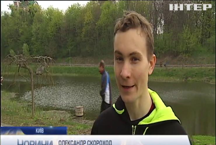 """На вихідних у Києві пройшов марафон """"прибульців"""""""