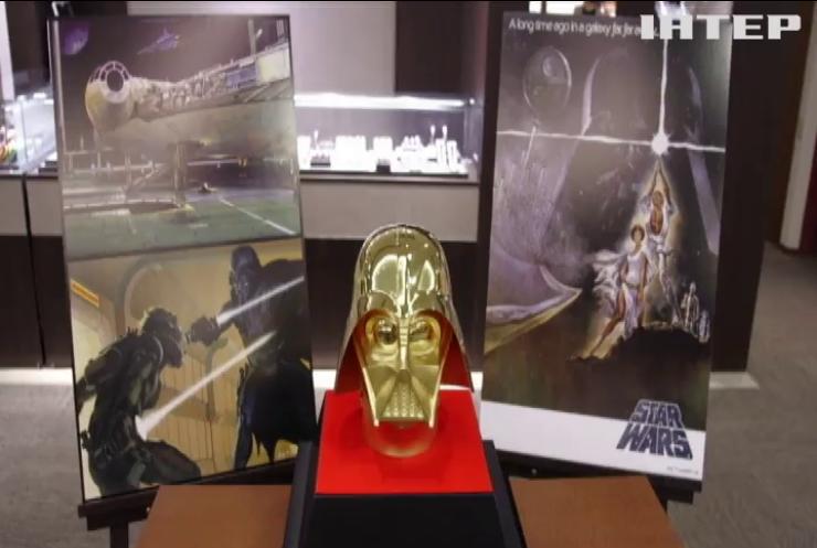 В Японії створили золотий шолом Дарта Вейдера