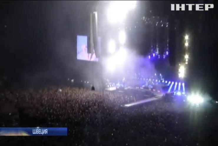 Depeche Mode открыл мировое турне концертом в Швеции