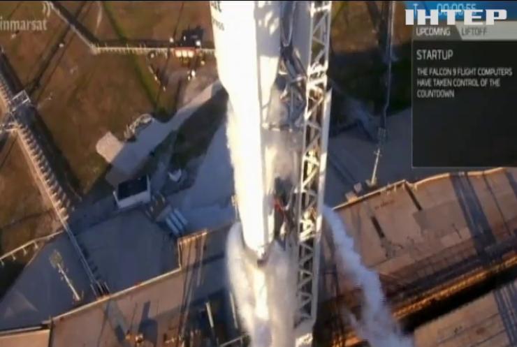 Американська компанія SpaceX відправила у космоc комунікаційний супутник