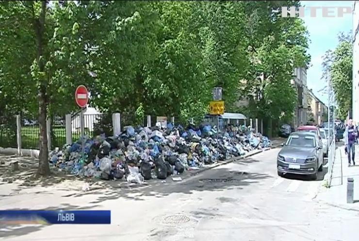 Львів платить посередникам половину вартості утилізації сміття
