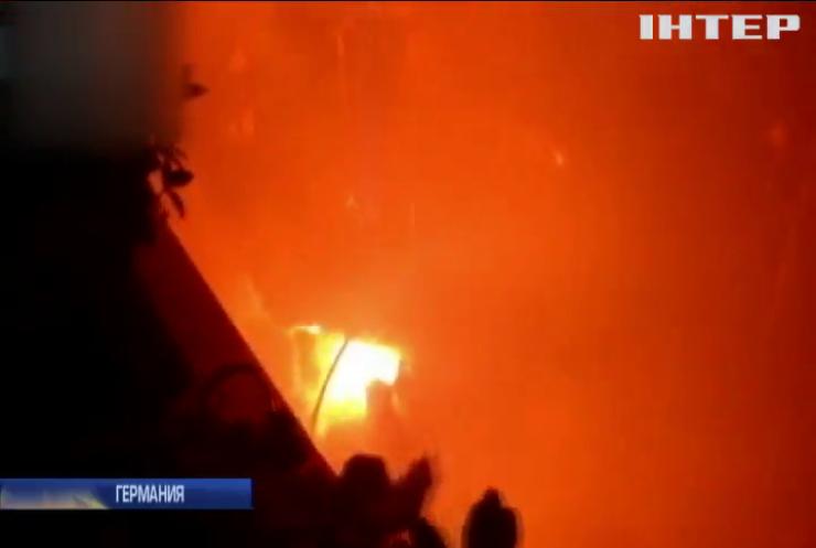 В Берлине вспыхнули массовые беспорядки