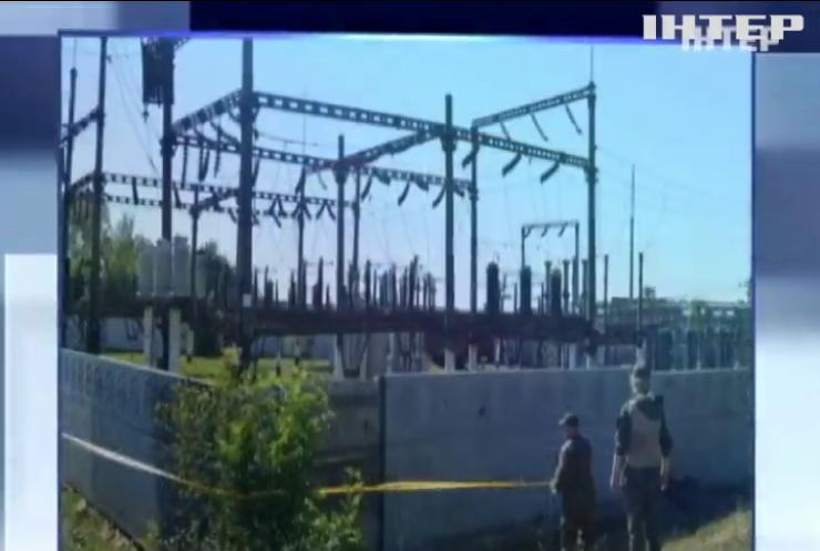 На Донеччині диверсанти намагались підірвати електропідстанцію