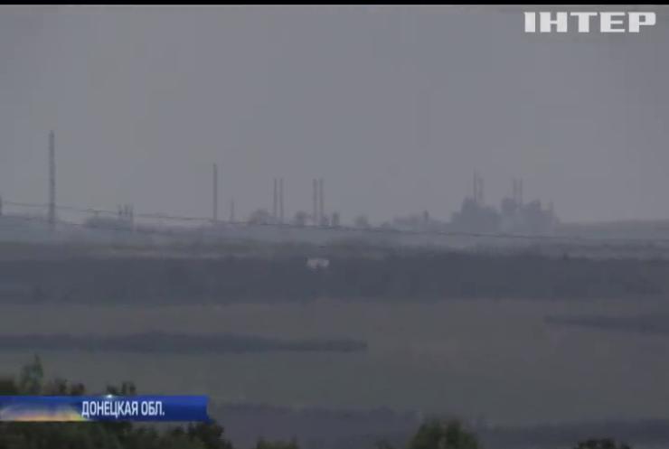 """Война на Донбассе: боевики """"поливают"""" украинских защитников смертоносным железом"""
