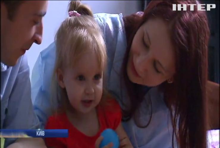 Маленька Мілана потребує найскорішої операції