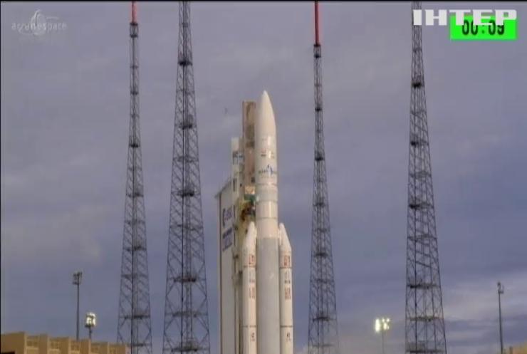 Ракета Аріан-5 вивела на орбіту Землі нові телекомунікаційні супутники