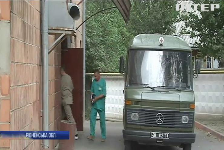 На Рівненському полігоні травмувалися 4 військових