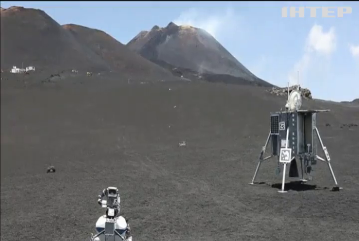 На Этне испытали робота, которого готовят для экспедиции на Луну