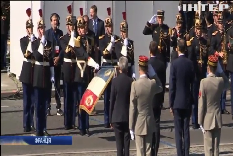 День узяття Бастилії Франція відзначила парадом