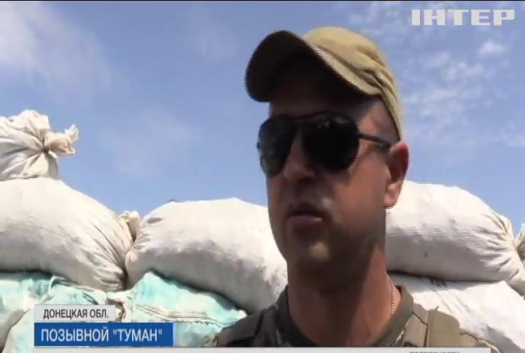 На Донбассе противник ведет учебные стрельбы по живым мишеням (видео)