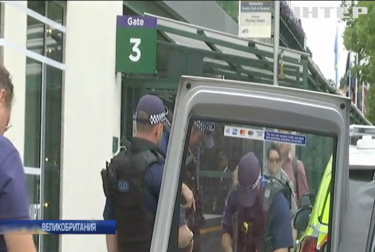 В Великобритании террорист попытался устроиться в охрану Уимблдона