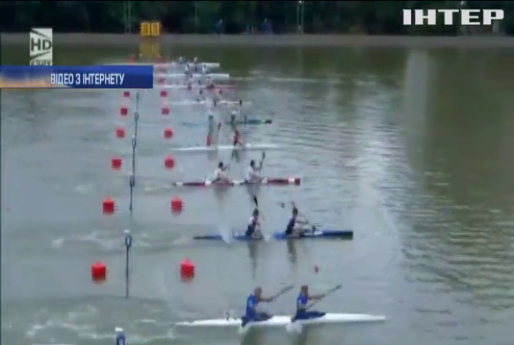 Українки вибороли золото на змаганнях з веслування на байдарках