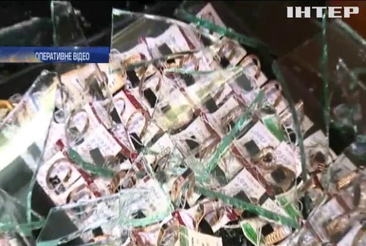У Вінниці пограбували ювелірний магазин